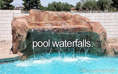 don't forget to smile♥Waterfall Pools, Pools Waterfall, Reasons To Smile, Waterfal Pools, Girly Things, Identity Waterfall, Fun, Waterfall Littlereasonstosmile, Pool Waterfall