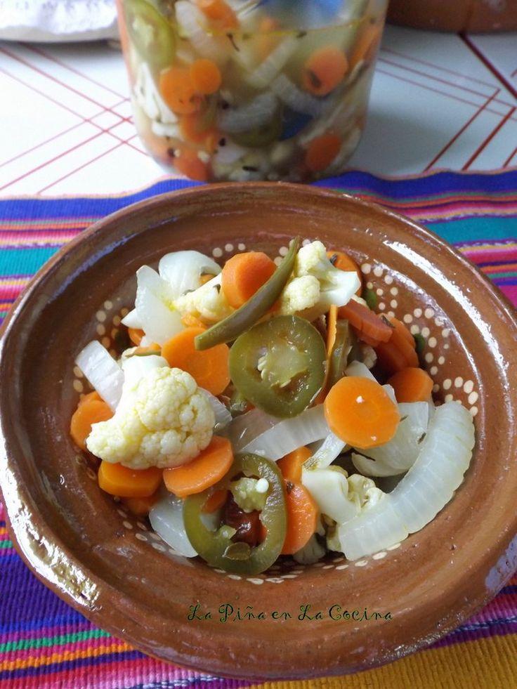 Escabeche with Cauliflower