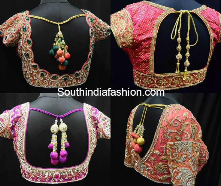 blouse_designs_for_wedding_sarees