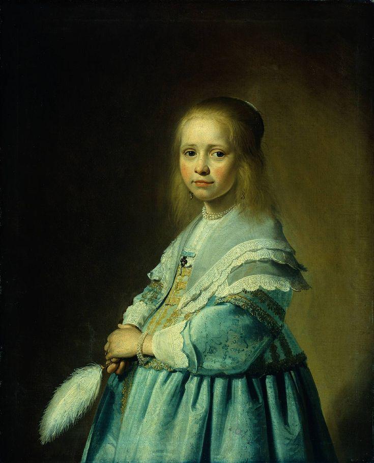 Johannes Cornelisz Verspronck, Meisje in het Blauw.