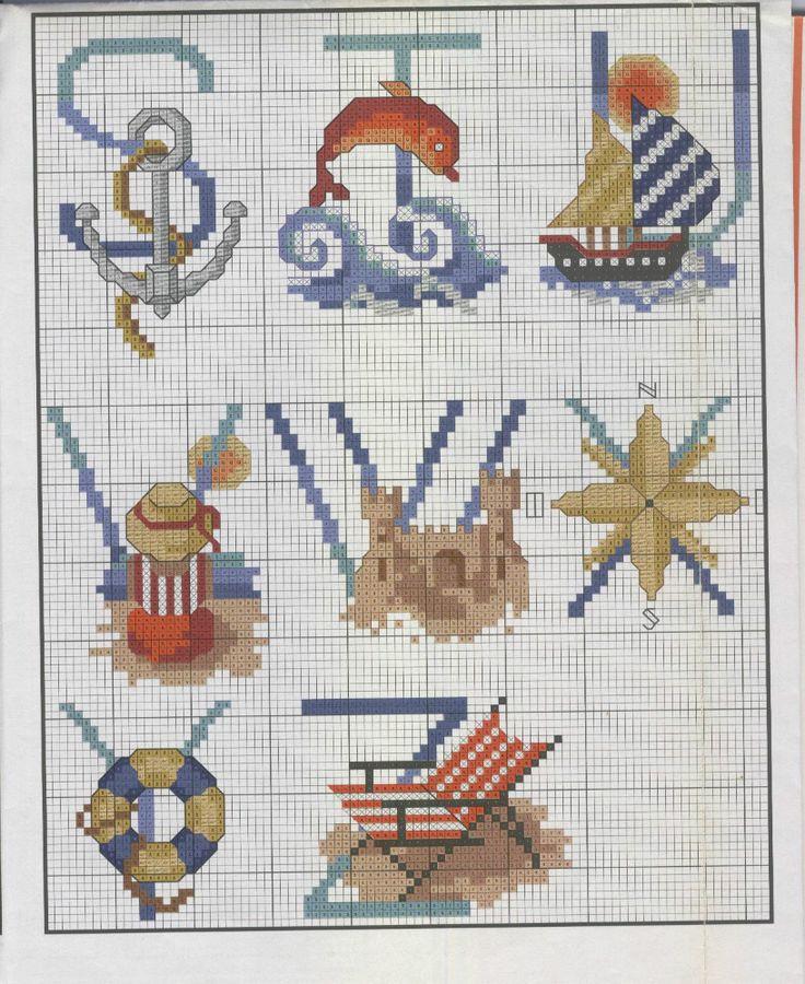 Nautical Alphabet S - Z