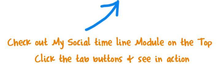 """Scoop Innovative Webdesign - Min Sociale All-in-one Timeline. Giv dine besøgende alle dine Social Media Opdateringer uden at forlade dit Joomla websted. Scoop WebTeam designer dit sociale netværk og implementerer alt for dig på din hjemmeside. Dette er et """"Must have"""" emne."""