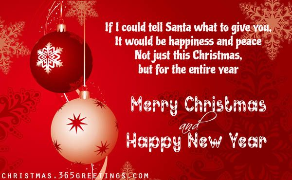 Short Christmas Messages and GreetingsAhhh, it's Christmas time already. Christmas season is a time for joy and happiness. It is also a time for us to show our affection by giving our loved ones a special Christmas gift or personalized Christmas gifts. Some may…