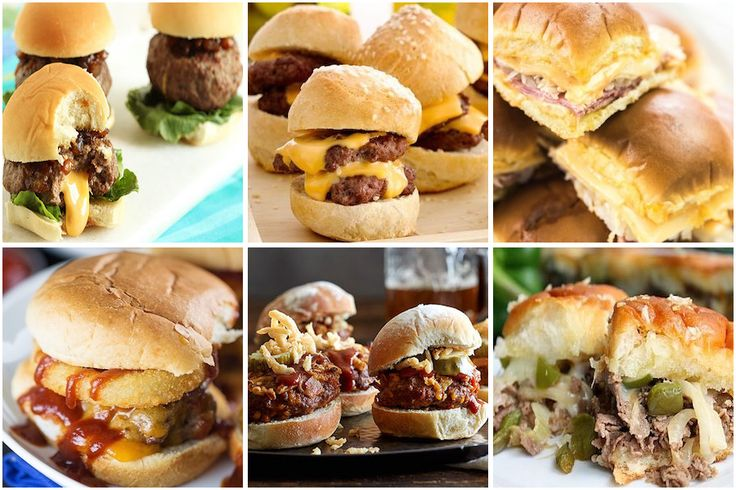 These sliders are perfectfor a game day appetizer, a Super Bowl party or for a cheap and easy lunch! You can pair them with some fries or chips for a complete meal. Chicken Slider Recipes Chicken Parmesan Sliders from Food Curation Slow Cooker Buffalo Chicken Sliders from Simply Stacie Chicken BBQ Sliders from Kraft Teriyaki …