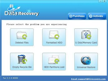01recovery - recover the lost image files,designed for various formats of digital photo and picture files. Download now for free!