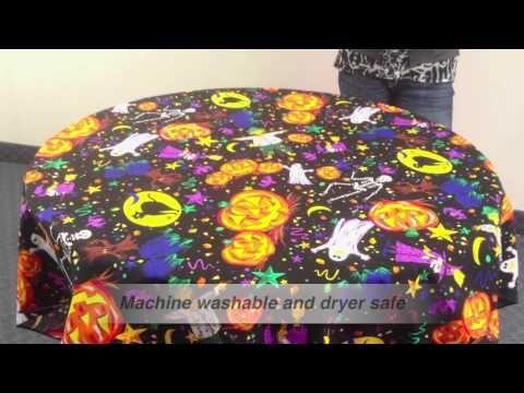 Halloween Tablecloth Fabric