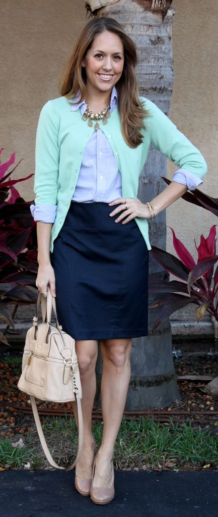 Best 25 Navy Pencil Skirts Ideas On Pinterest Navy