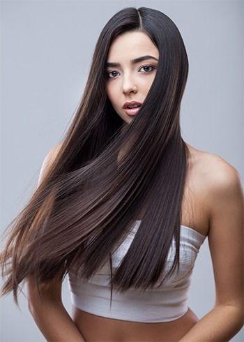 1000 Ideas About Naturally Straighten Hair On Pinterest