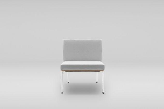 Fotel FIN podstawa metalowa #design