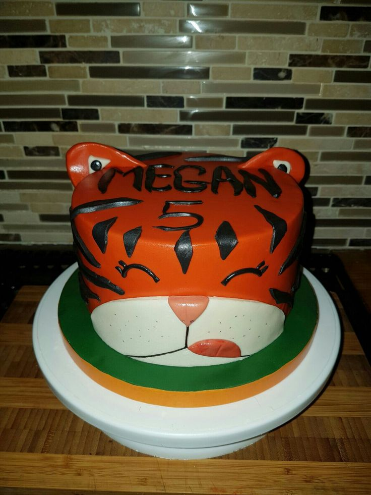 Best 25 Tiger Cake Ideas On Pinterest Daniel Tiger
