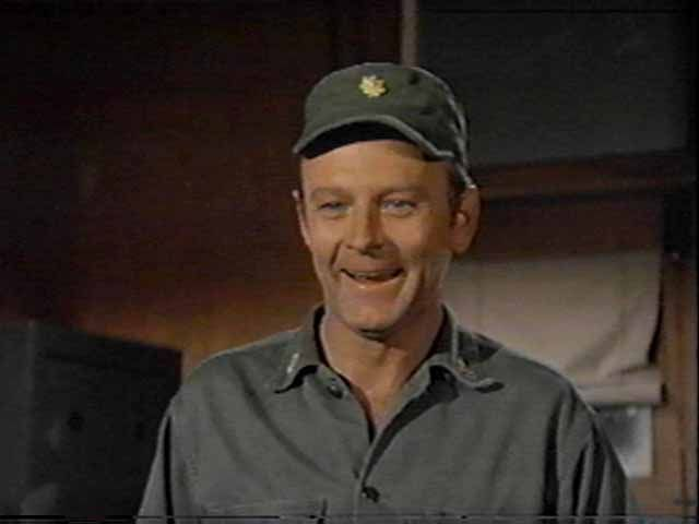"Major Franklin Delano Marion ""Frank"" Burns / Larry Linville"