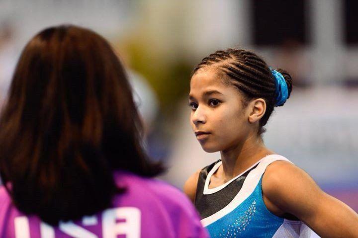 Local gymnast Jordan Chiles vaults onto U.S. team | The Columbian