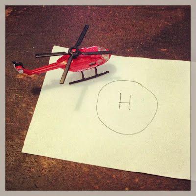 Hupsutteluja: Helikopteri voi vihdoinkin laskeutua! / Easy  DIY: Chooper Landing Site.