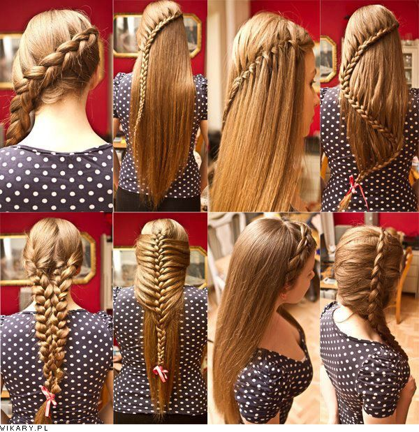 I wish I could do all this..: Hair Ideas, Hairstyles, Hair Styles, Makeup, Long Hair, Braids, Beauty