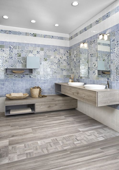 19 best PIASTRELLE BAGNO images on Pinterest | Room tiles, Subway ...