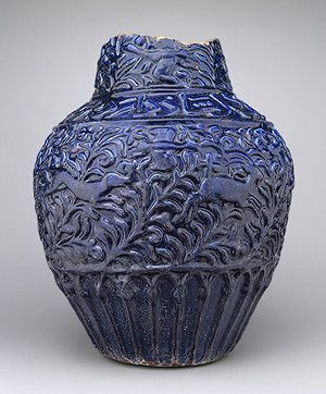 Jar with molded decoration [Iran] (56.185.3) | Heilbrunn Timeline of Art History | The Metropolitan Museum of Art