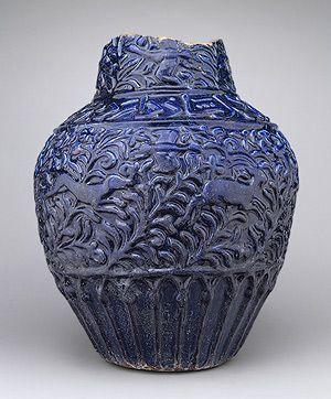 Jar with molded decoration [Iran] (56.185.3) | Heilbrunn Timeline of Art History | The Metropolitan Museum of Art