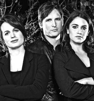 Elizabeth Reaser, Peter Facenilli, and Nikki Reed -- The Twilight Saga