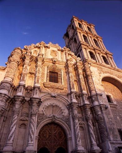 Catedral de Santiago, Saltillo, Coahuila, México.