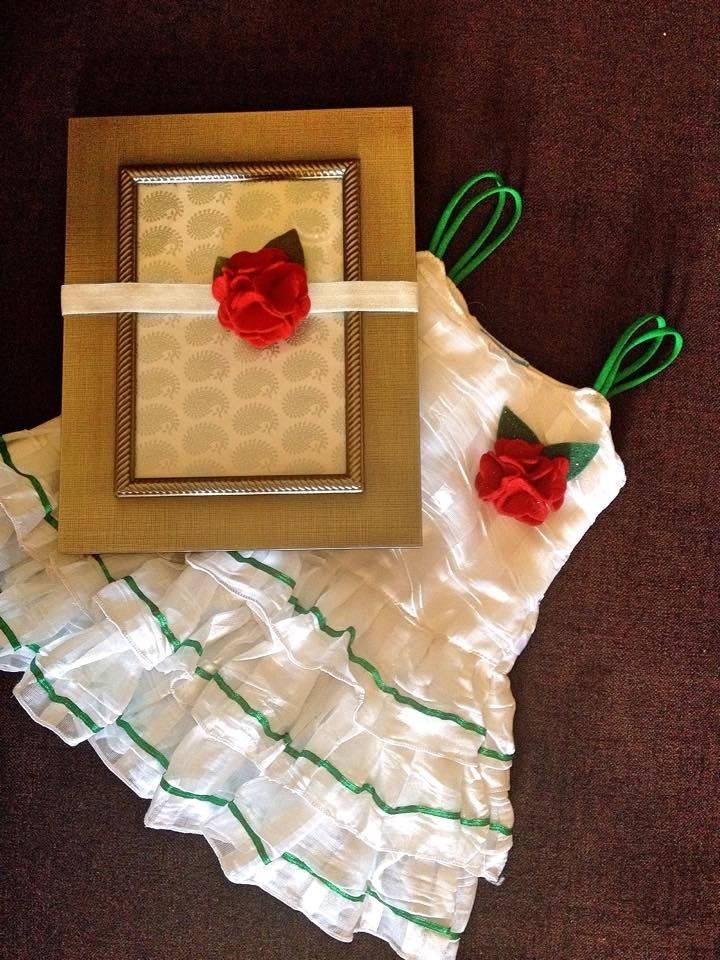 Pretty Frilly Princess dress Frock Skirt with matching headband from Urban Buy