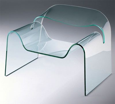 ghost glass chair by boeri cini
