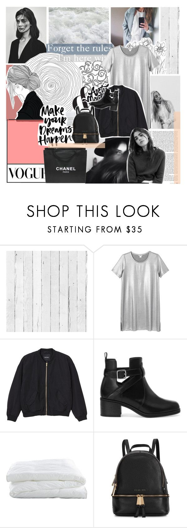 """""""Life is always rocky when your a gem"""" by moon-sun-of-usa ❤ liked on Polyvore featuring NLXL, Monki, Pull&Bear, Crate and Barrel, PAM, Michael Kors and Chanel"""