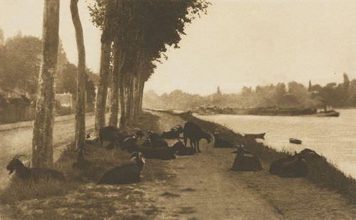 On the Seine, near Paris