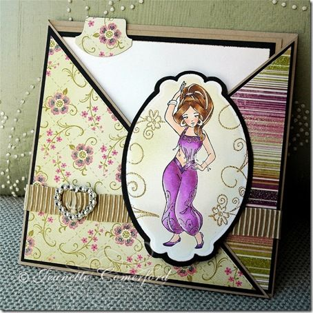 Whiff of Joy - Tutorials & Inspiration: Criss-Cross Pocket Card Tutorial by Jeanette