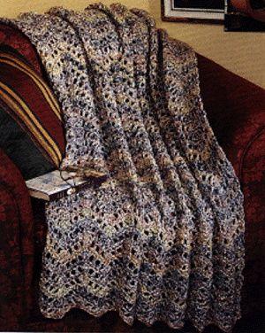 Free Crochet Afghan Patterns Using Homespun Yarn : 81 best images about Crochet Homespun Patterns on ...