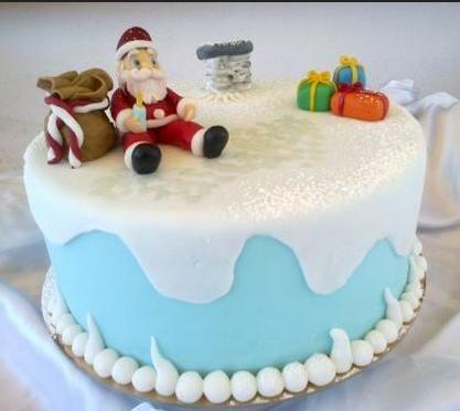 Decorare torte in stile natalizio, ricetta marzapane e pasta di zucchero