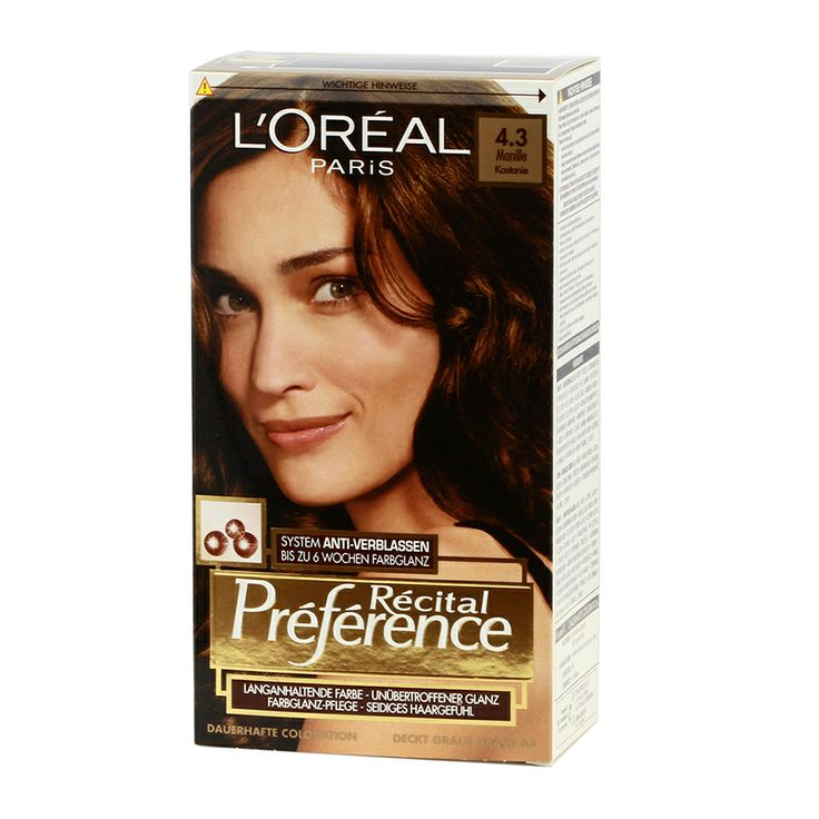 l oreal preference color extender instructions