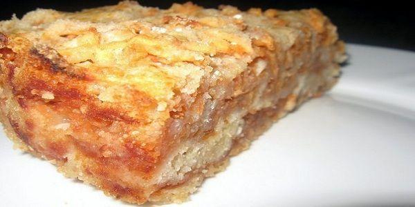 Пирог очень вкусный, особенно в холодном виде…