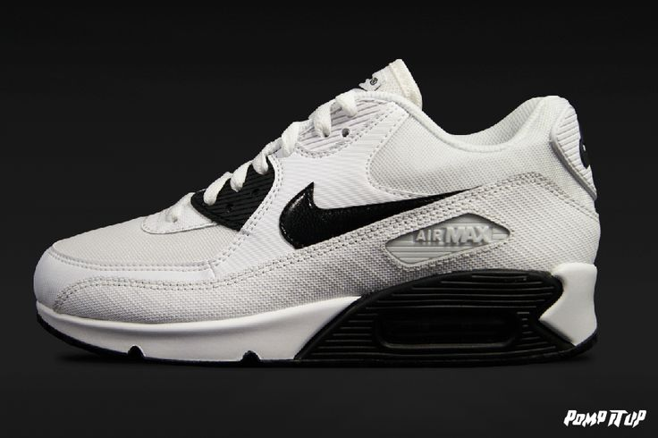 Nike Air Max 90 Essential  (WHITE/BLACK) For Women Sizes: 36 to 42 EUR Price: CHF 170.- #Nike #AirMax #AirMax90 #NikeAirMax #NikeAirMax90 #NikeAirMax90Essential #Sneakers #SneakersAddict #PompItUp #PompItUpShop #PompItUpCommunity #Switzerland