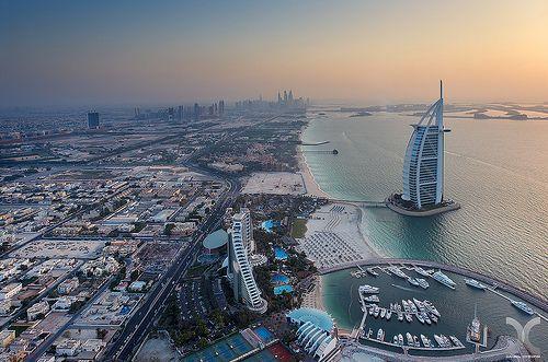 The Burj Al Arab by DanielKHC, via Flickr