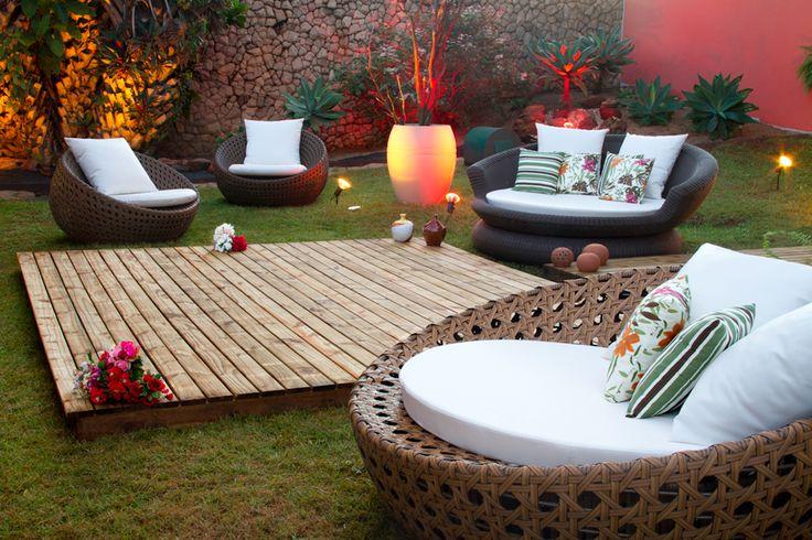 Iluminação do Jardim! 31 ambientes bonitos e econômicos na 5ª Morar Mais por Menos Goiânia - Casa