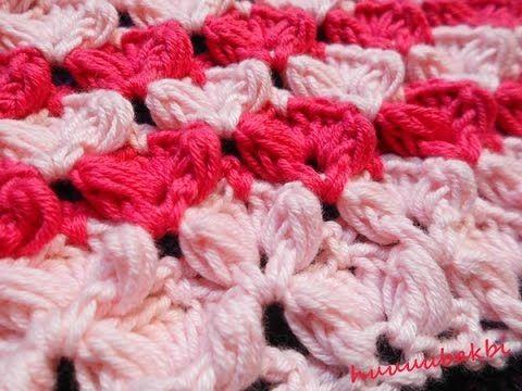 tığ işi bebek battaniye örneği,crochet blanket video