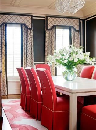 Gorgeous Clear Creek Dining Room Designed By Tobi Fairley