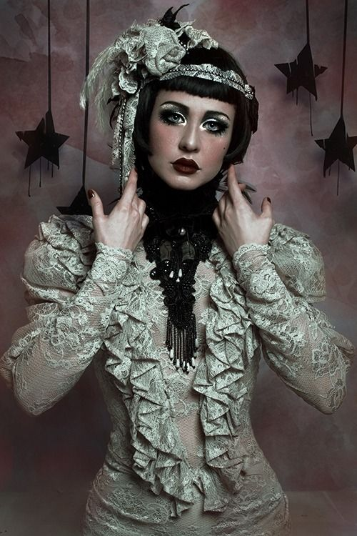 Edwardian Lace Dress By Blackmirror Design Photo And Hat Piece Cunene Photography Model Dolly Lamour Find This Pin More On Fashion Inspiration