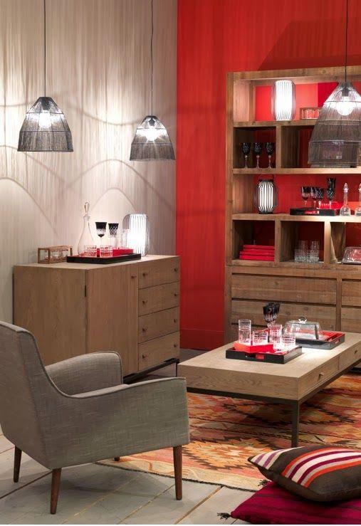 vision dco by sofia chez blanc divoire le bois contemporain toutes - Salon Blanc Ivoire