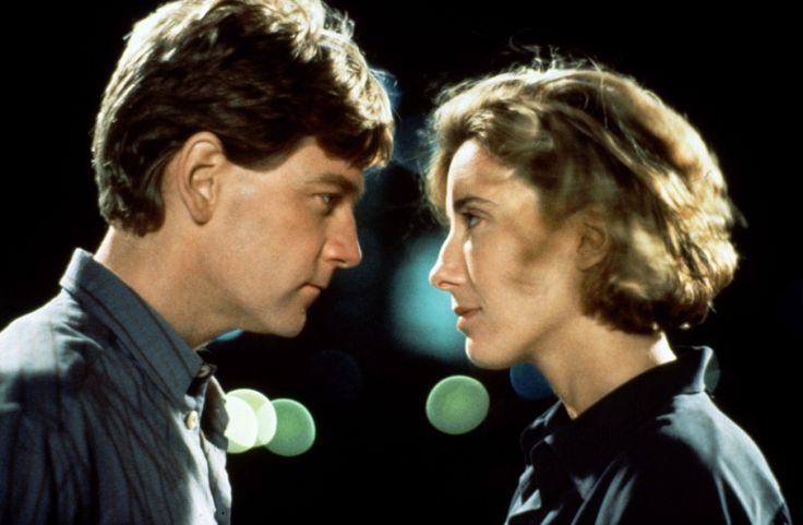 "Kenneth Branagh and Emma Thompson in ""Dead Again."""