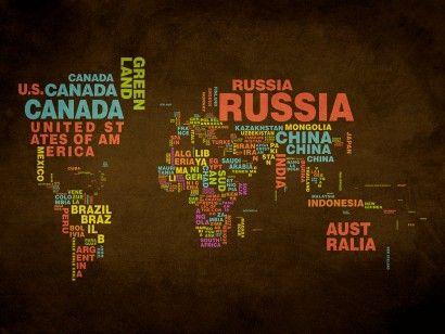 Mapa Mundi Nomes | Quadros/Frames | Mapa mundi, Quadros ...