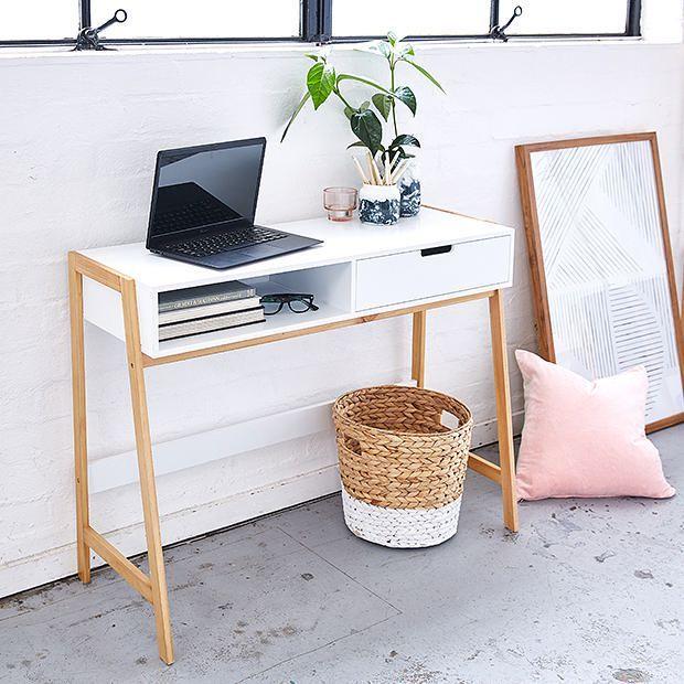 Bailey Desk | Target Australia $69 W 100cm x D 40cm x H 75cm.