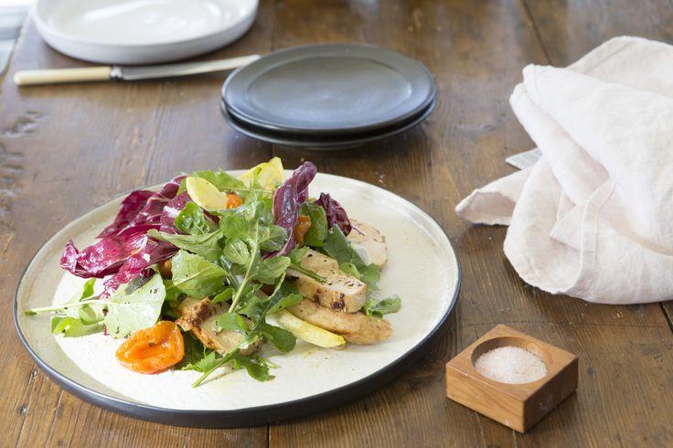 Chicken Salad with Mustard Fruits - Maggie Beer