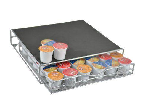 Keurig K-Cup Storage Drawer Coffee Holder for 36 K-Cups - http://workoutprograms.net/keurig-k-cup-storage-drawer-coffee-holder-for-36-k-cups/
