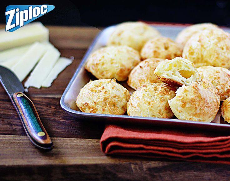 Traditional – Gougéres (Cheese Puffs)