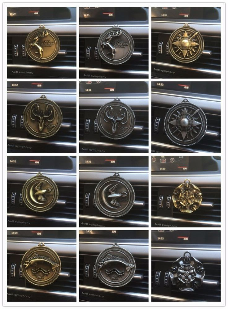 Game of Thrones Choose Your House Car Perfume Fragrance Car Air Freshe