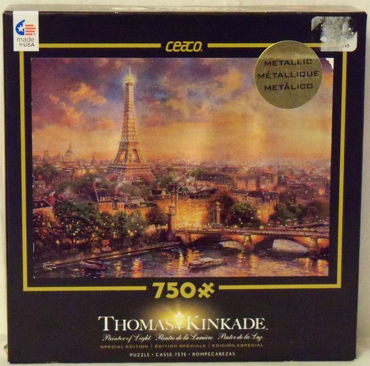 CEACO Thomas Kinkade Paris City of Love