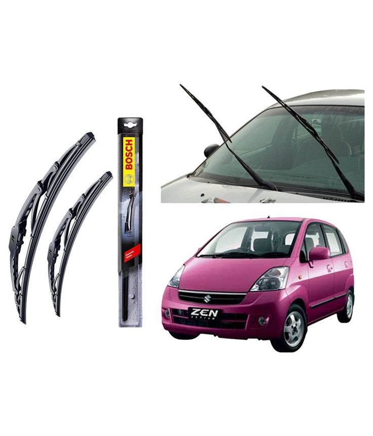 Wiper Blades For 20 and 17 set For Maruti Zen