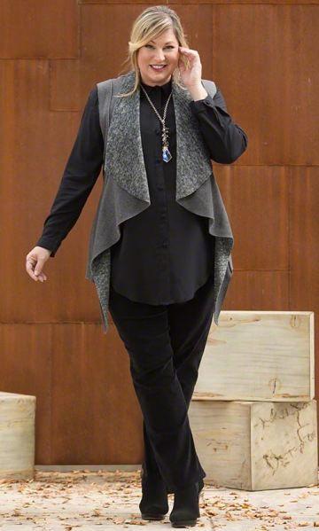 ALYESKA VEST / MiB Plus Size Fashion for Women / Winter Fashion / Plus Size Vest