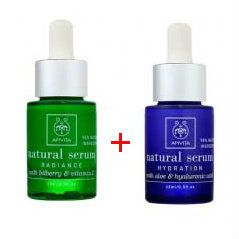 Apivita Promo Natural Serum Beauty Twins Hydration & Radiance